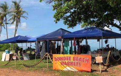Dundee beach markets